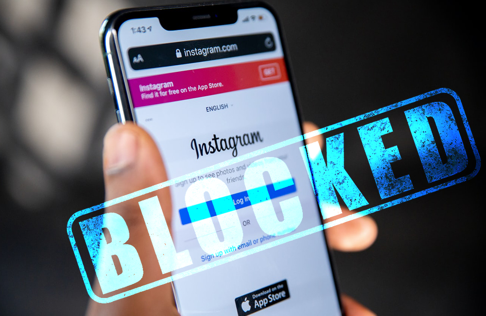 Reasons Why Your Instagram Account is Blocked